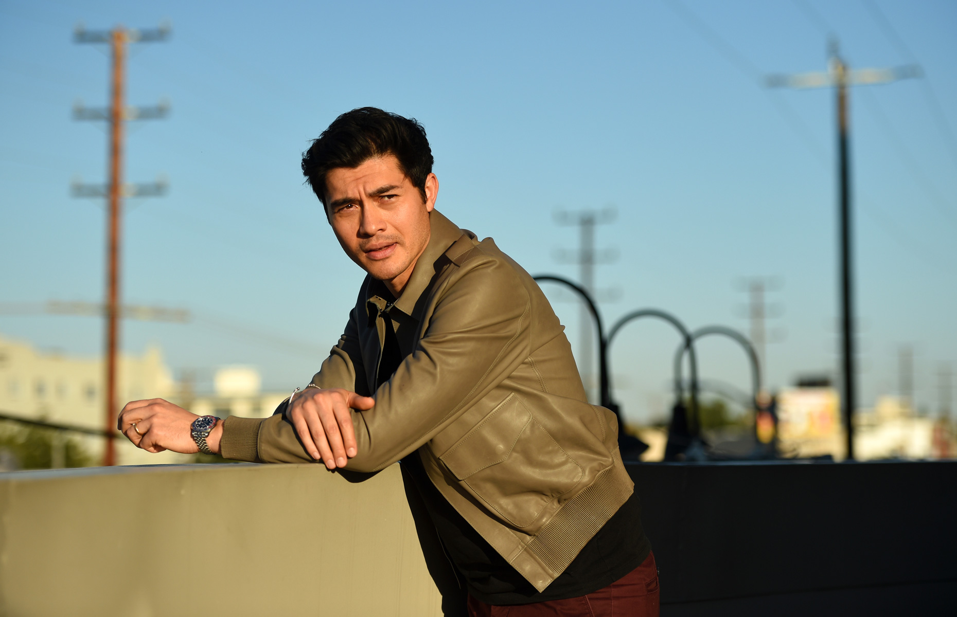 Henry Golding Portrait Session